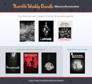 humbleweeklybundlemonochromatic_cover