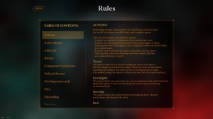 Overview of the rules