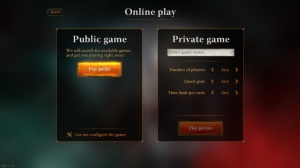 Starting a private game with a buddy