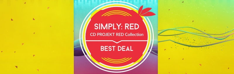 """GOG """"Simply: RED – CD PROJEKT RED Collection"""" with"""